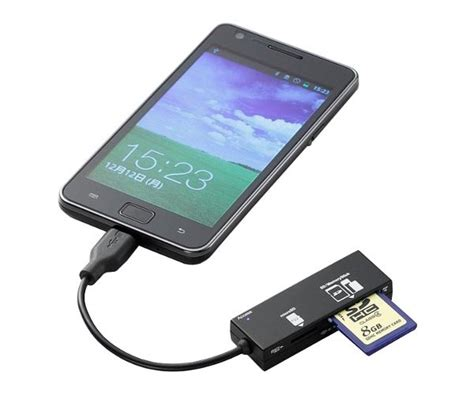 usb reader for android kool media usb card reader for android phones and tablets