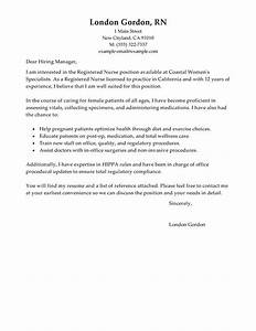 Best Registered Nurse Cover Letter Examples