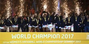 L'équipe de France féminine de handball est Championne du monde 2017 ! HBCSB