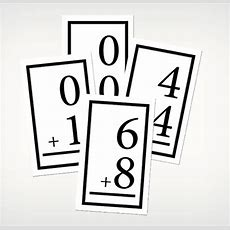 16 Printable Flash Cards {abc, Numbers, Math, Words}  Tip Junkie
