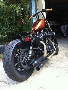 Switched Up My Exhaust Sportster