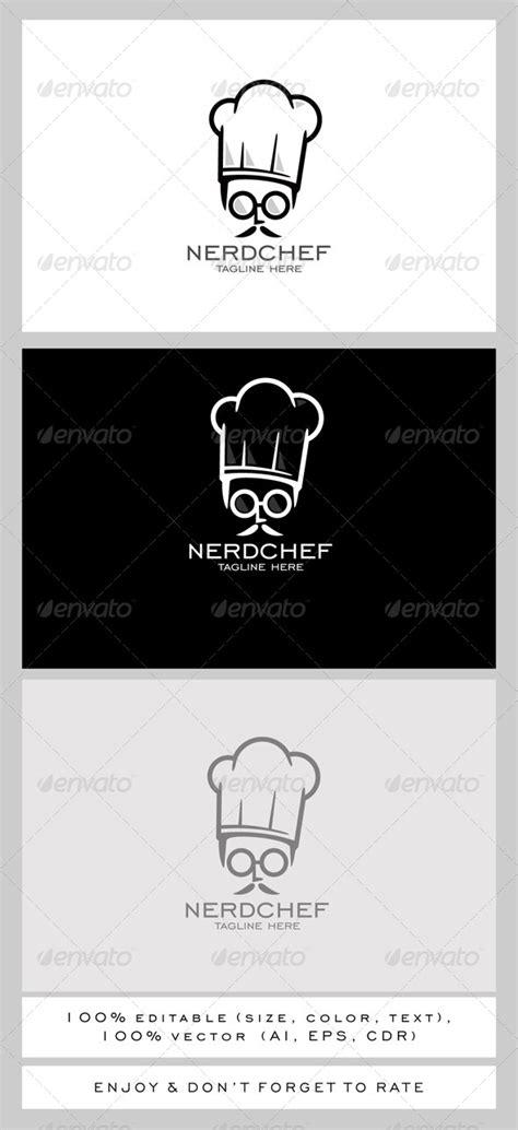 Templates Nerd by Logo Template Graphicriver Nerd Chef Logo 7791814