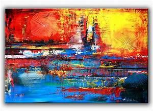 Abstrakte Bilder Acryl : inferno 2 acrylbild abstrakt abstrakte malerei in acryl auf leinwand von burgstallers art ~ Whattoseeinmadrid.com Haus und Dekorationen
