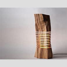 Modern Sliced Wood Light Sculpture » Gadget Flow