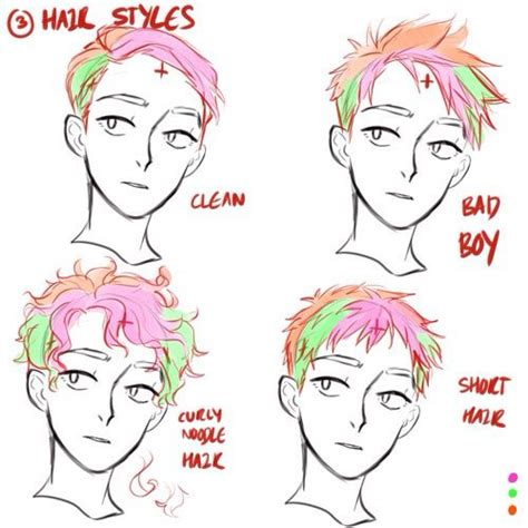 pinterest atwosos     draw hair guy