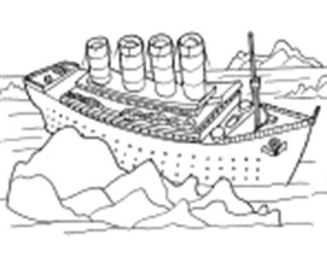 Barco Roto Dibujo by Dibujos Del Titanic Para Colorear En El Ordenador Ideas