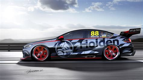 Australia's Newest V8 Supercar Is One Beefy Buick