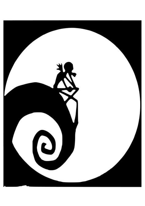Nightmare Before Christmas Hill Svg  – 461+ SVG File for Silhouette