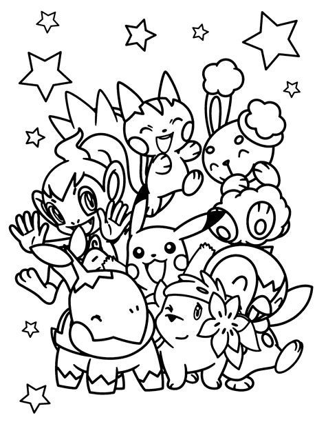 Pokemon White 2 Free Coloring Pages