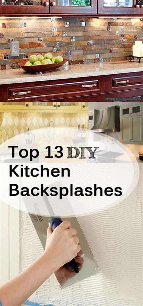 do it yourself backsplash kitchen top 13 diy kitchen backsplashes listsy