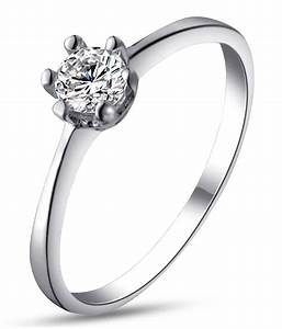 kaizer wedding engagement 18k white gold plated ring buy With 18k white gold wedding ring