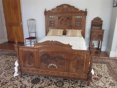 vintage bed set antique bedroom furniture ebay