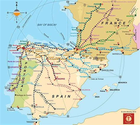 camino pilgrimage map camino routes the camino documentary about the camino