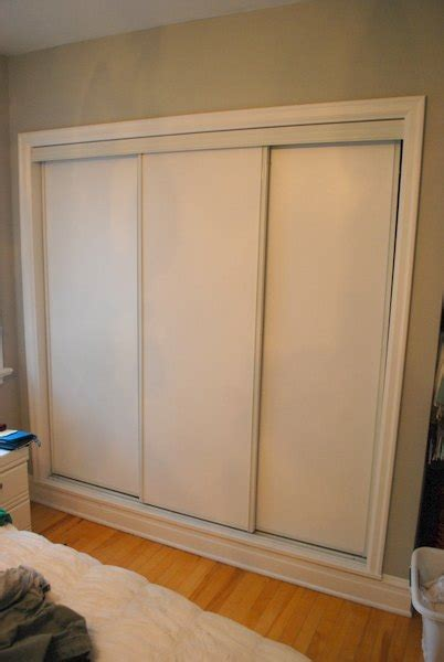 hometalk   paint faux trim  closet doors