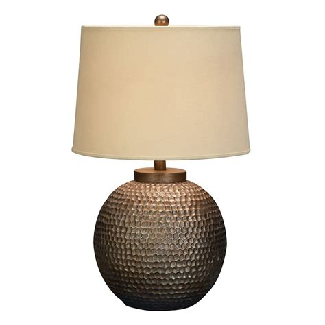 Hammered Lamp contemporary hammered metal table lamp lamps with cream