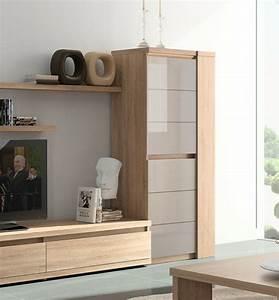Meuble De Rangement Salon : le meuble colonne en 45 photos qui vont vous inspirer ~ Teatrodelosmanantiales.com Idées de Décoration