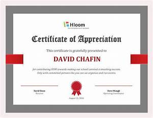 7 printable donation certificates templates With certificate of appreciation for donation template