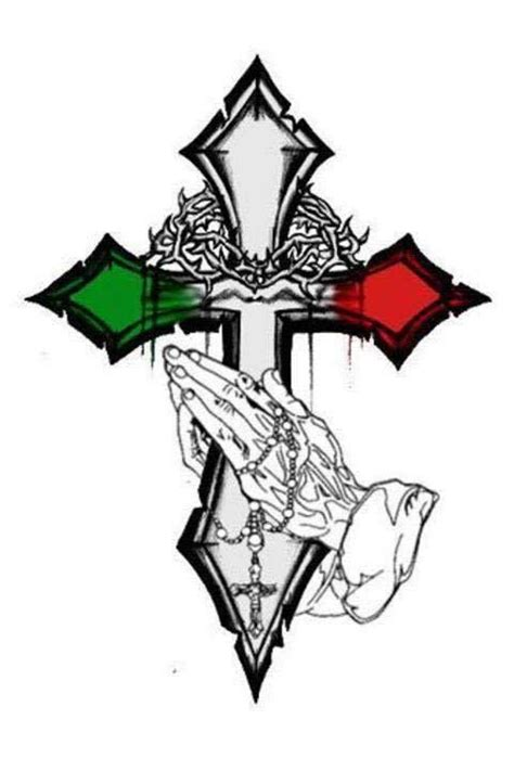 italian cross mexican culture art