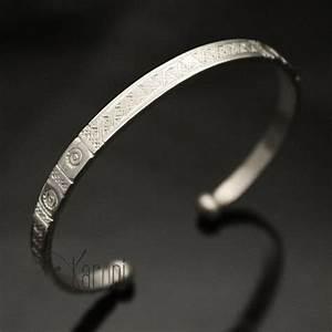 Bracelet En Argent Homme : bijoux ethniques touareg africains bracelet en argent de mauritanie homme femme 10 mauritanie ~ Carolinahurricanesstore.com Idées de Décoration