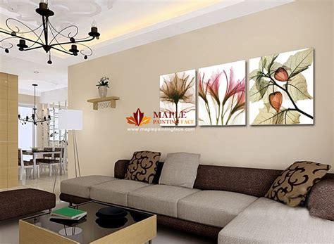 peinture moderne murale salon expertscnes