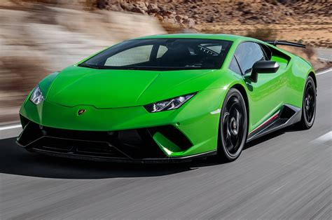 lamborghini huracan performante 2018 2018 lamborghini huracán performante first test review