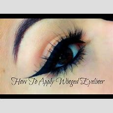 How To Do Winged Eyeliner For Beginners! (liquid & Gel) Youtube