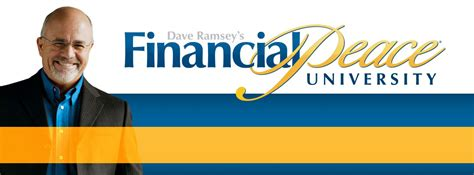 Financial Peace University  Christ Community Church