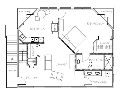 houses with inlaw apartments in apartment plan