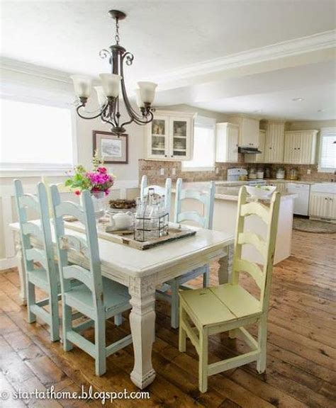 kitchen chairs painted different colors of homes 8210