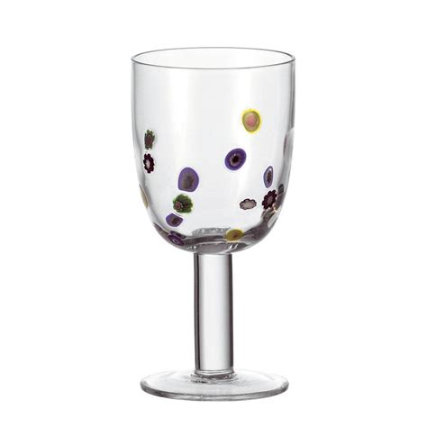 weingläser mit muster cocktail gl 228 ser leonardo rotweinglas millefiori 2er set mit muster