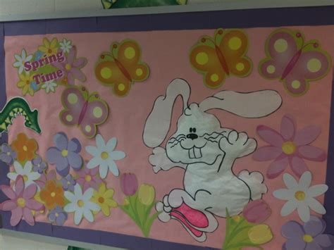 easter bunny bulletin board idea myclassroomideas 392 | Easter Bunny Bulletin Board Idea