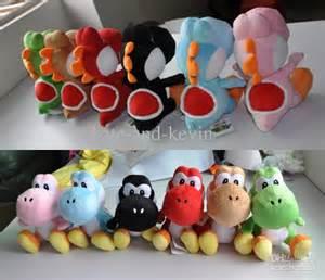 Super Mario Yoshi Colors Plush