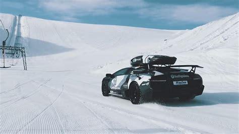 jon olsson drive  lambo   glacier top gear
