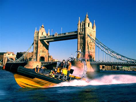 Speed Boat London Thames by Thames Rib Experience Speedboat Tours The River Thames
