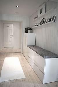 Ikea Kallax Flur : glad i hvitt forandringer i gangen style pinterest inredning hus och heminredning ~ Markanthonyermac.com Haus und Dekorationen