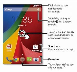 Moto G Home Screen