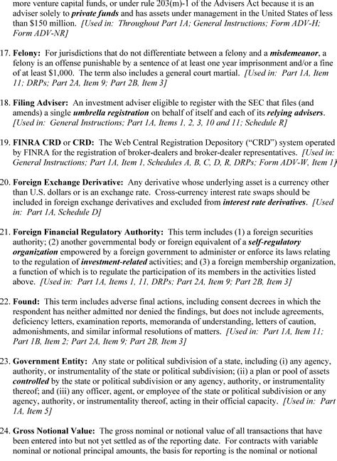 federal register form adv  investment advisers act rules