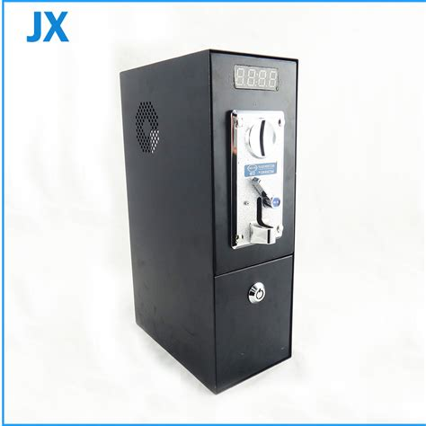 coin operated timer box coin acceptor for