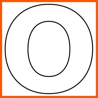 letter o template letter o template preschool search projects to 42053