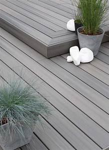 Terrasse Lame Composite : plancher en composite l 39 habis ~ Edinachiropracticcenter.com Idées de Décoration