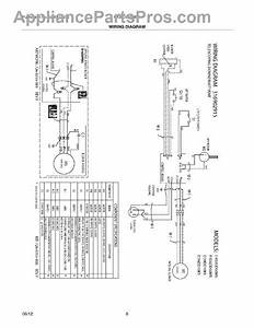 Parts For Frigidaire Fh36dd50msa  Wiring Diagram Parts