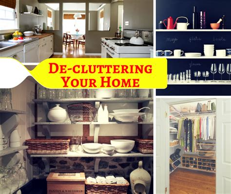 New Year's Resolution Organize And Declutter Your Home