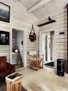 Charming, Norwegian-style, Log, Cabin, Packed, With, Iconic, Design, Pieces