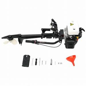 4 Stroke 4hp Outboard Motor Boat Engine With Air Cooling