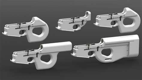 professional airtech grade fan file charon line of 3d printable ar 15 lower receivers by