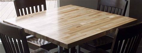 Wood Dining Table Tops   John Boos Butcher Block