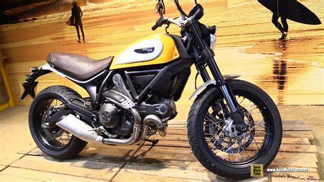 Ducati Scrambler Throttle Backgrounds by 2015 Ducati Scrambler Classic Walkaround Debut At 2014