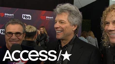 Jon Bon Jovi Talks Iheartradio Music Awards Icon Honor
