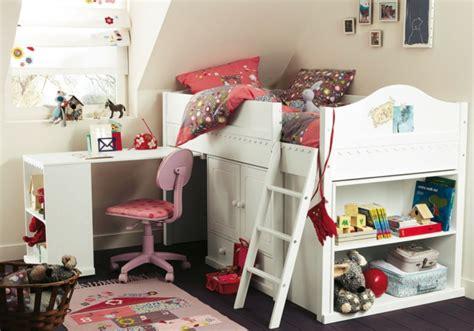 lit sur lev avec bureau le lit surélevé designs amusants archzine fr