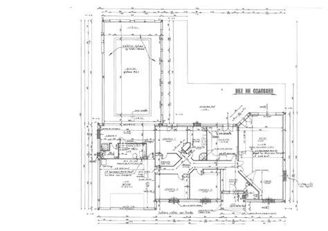 plan maison avec piscine interieure
